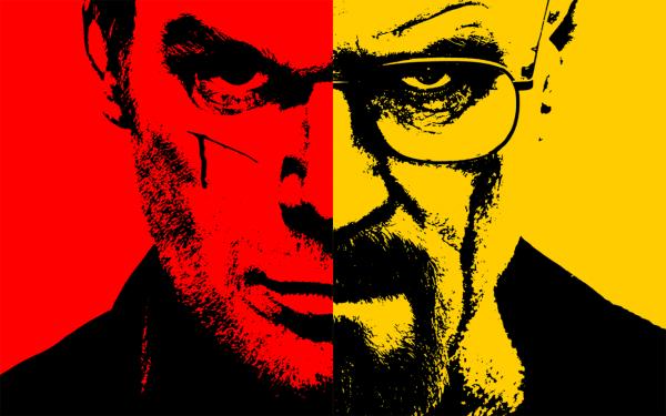 Les fanfics abondent sur le net : qui de Dexter ou Walter White est le plus machiavélique ?