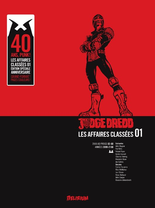 Judge Dredd book one (French edition)