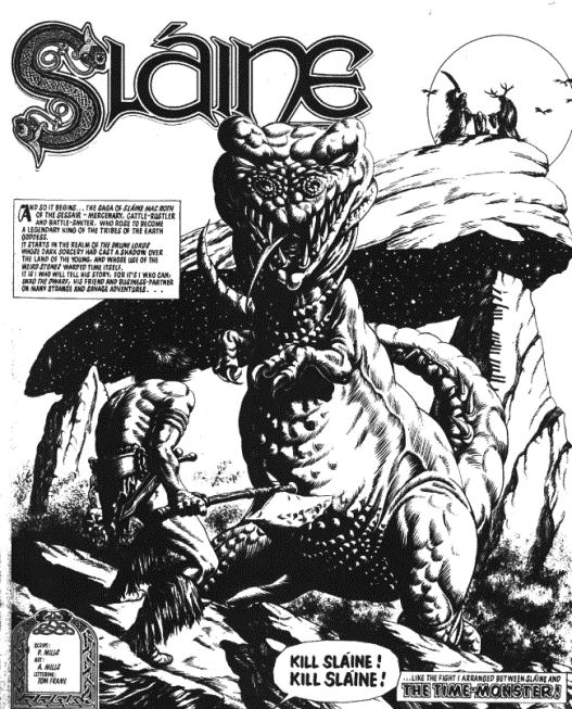 Sláine's very first appearance