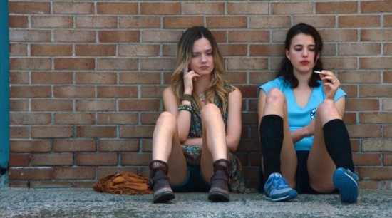 Jill, à droite, adolescente typique en perte de repères