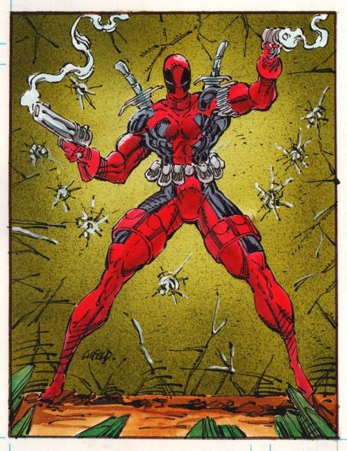 Et c'était bien moche, au départ, Deadpool