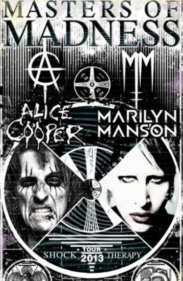 Alice et son fils spirituel Marilyn Manson