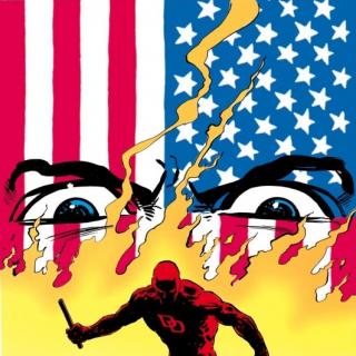 Miller construit son oeuvre dans une Amérique en flamme
