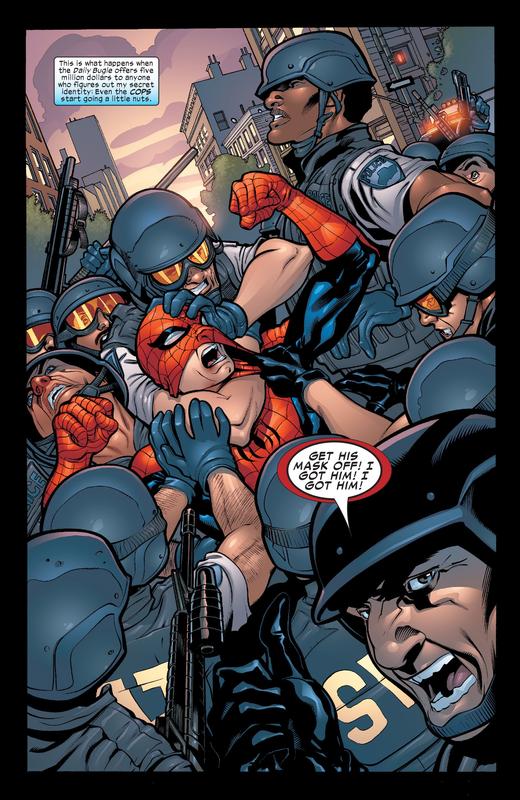 La récompense pour démasquer Spider-man déclenche l'hystérie même parmi la police