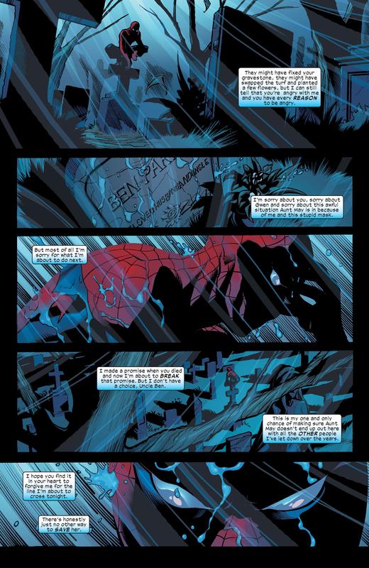 Un Spider-man toujours aussi doué pour ressasser le passé et se torturer lui-même