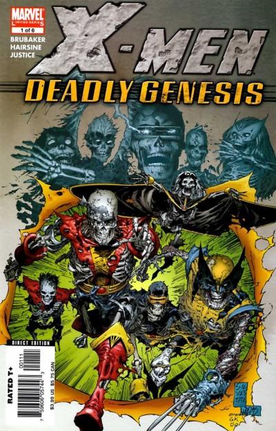 Une couverture prémonitoire : après cette histoire la licence X-Men va lentement se put(e)réfier....