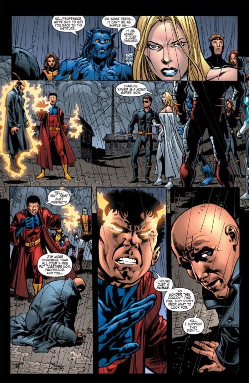 Vulcain : un vilain plus con et manichéen que ceux de Stan Lee ! Brubaker a fait fort sur ce coup là !
