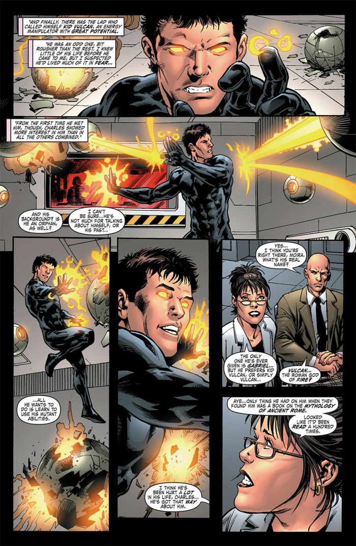 Charles Xavier entraîne en secret le troisième frère Summers