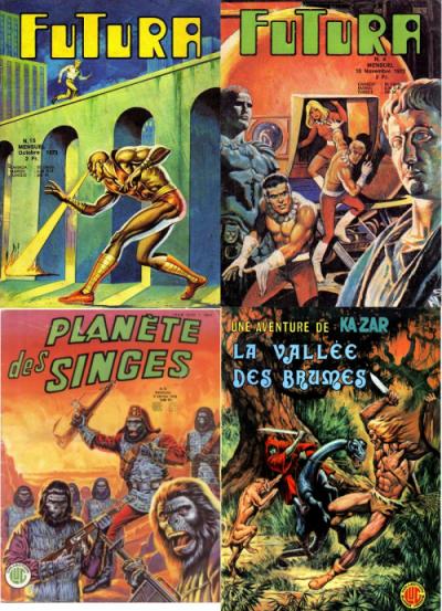 Amateur de Tarzan , John Carter , La planète des singes ou Flash Gordon , Jean Frisano aimait encore davantage son travail sur les récits d'aventure et de science-fiction que celui sur les super héros