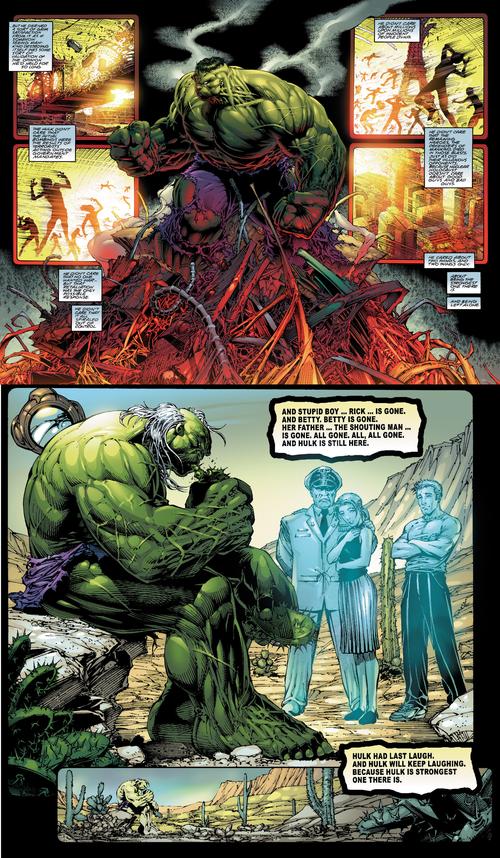 Hulk est débarrassé des stupides humains qui n'ont rien appris des erreurs du passé
