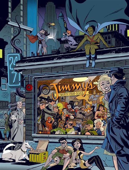 Couverture de « Graphic Ink », un artbook sur le DC Universe sorti en 2015