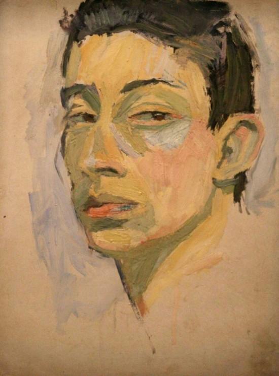 Avant de s'auto-détruire, Gainsbourg a détruit toutes ses toiles. Sauf celle-ci...