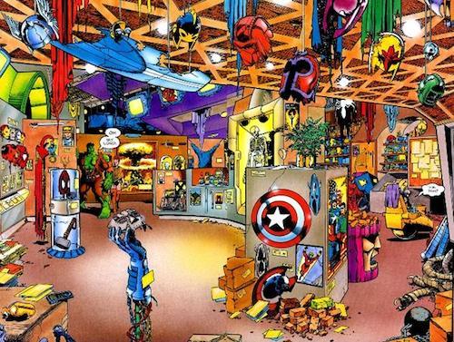 La caverne d'Ali Baba du Marvel Zombie