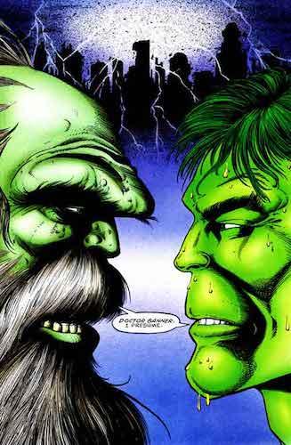 Deux Hulk pour le prix d'un !