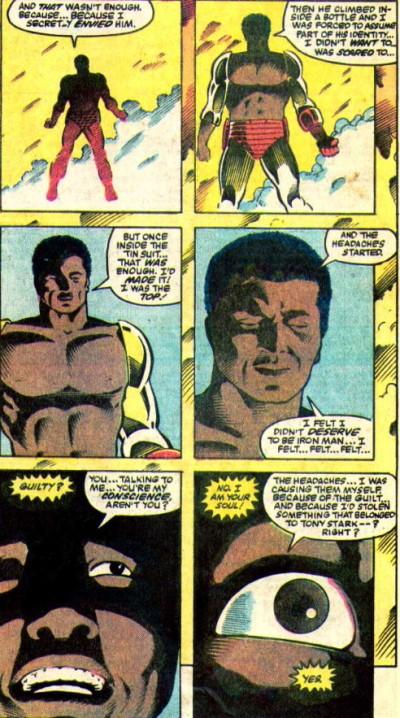 L'armure d'Iron Man : un fardeau lourd à porter pour Tony Stark et James Rhodes ?