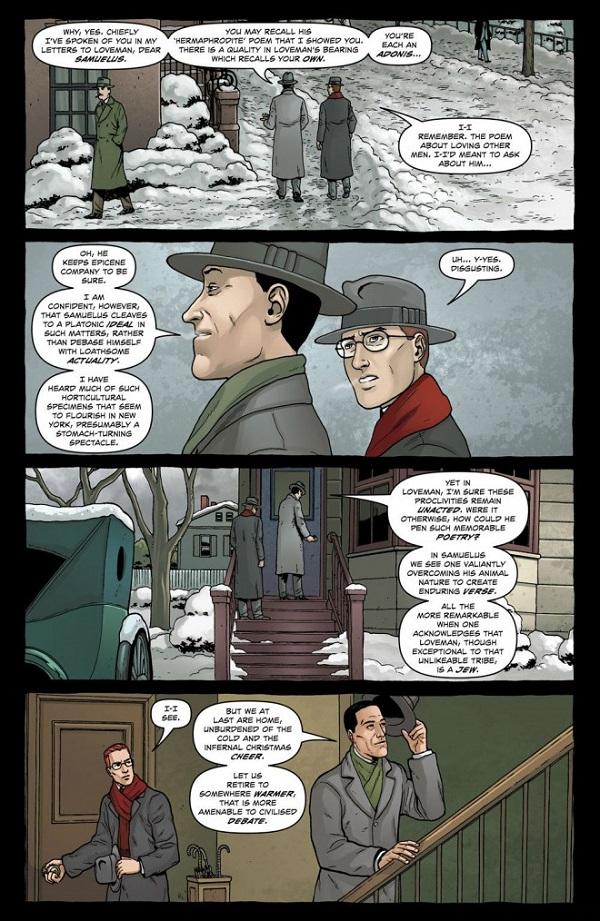 Robert Black, le héros de la série, est l'invité privilégié de… Howard Phillips Lovecraft en personne !