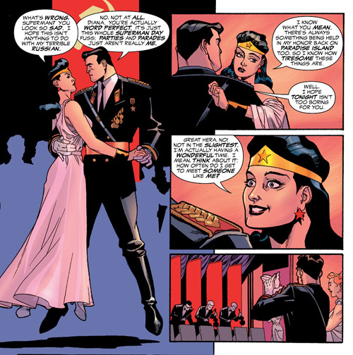 Superman et Wonder Woman : une romance qui hélas finira mal…