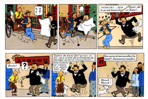 Tintin: Défenseur des opprimés, toute race confondue…