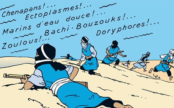 Le dessin préféré d'Hergé sur toute sa carrière!