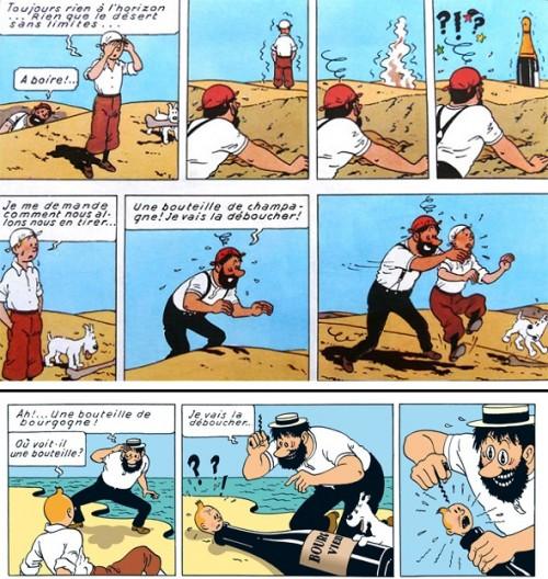 Hergé, ou un monde bien à part, entre réalité, rêves et cauchemars!