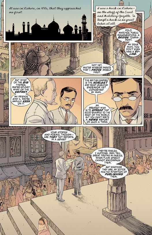 Le bon vieux temps de l'Empire, avec Rudyard Kipling