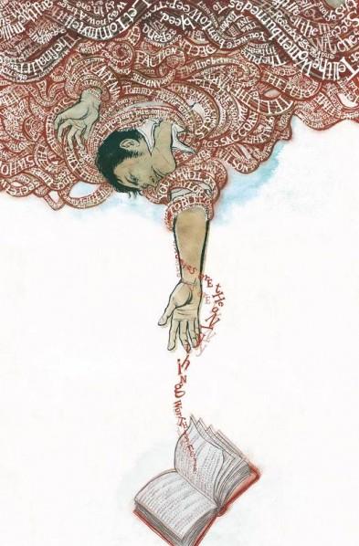 Le lien entre le réel et la fiction, entre la vie et les mots