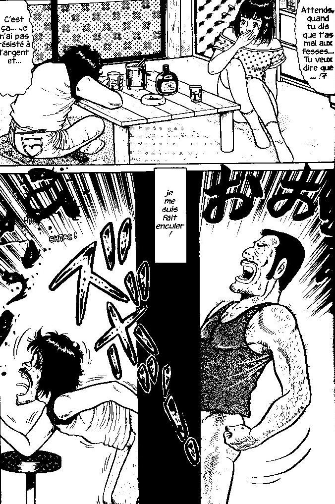 A force de ne rien branler, Yoshio finit par se faire enculer...
