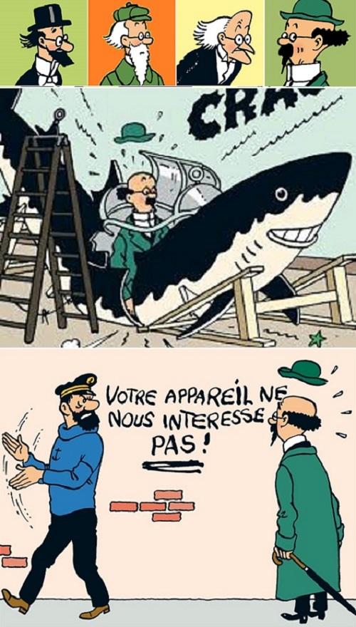 Chez Tintin, on ne rentre pas comme ça dans la famille…
