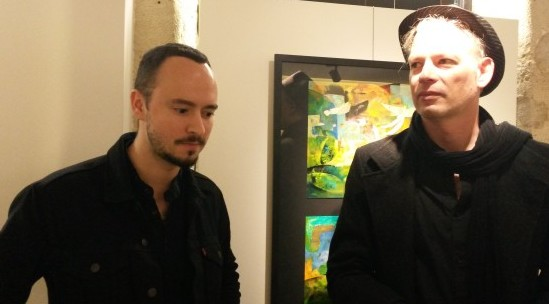 Ian Bertram à gauche se demande si on peut faire confiance aux mecs d Aapoum Bapoum à droite)