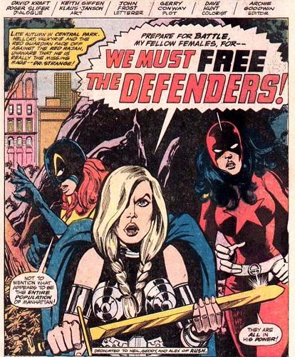 Girl power sur fond de guerre des sexes !