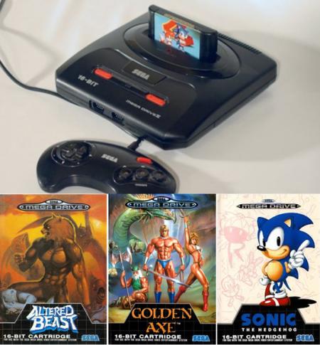 Retour dans le temps pour un peu de rétro gaming sur la Megadrive