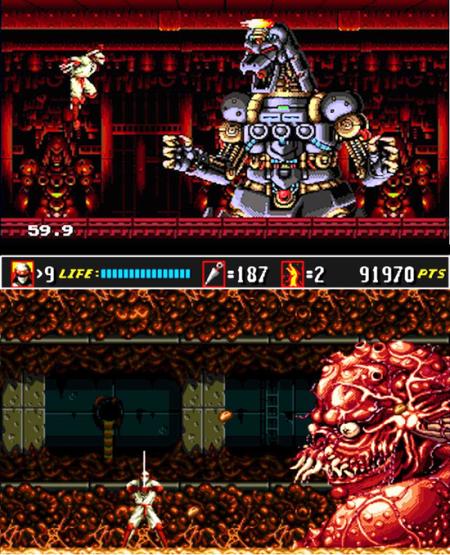 Shinobi 3 est allé recruter Mechagodzilla et…euh…d'autres machins hideux
