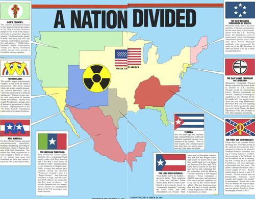Les Etats Désunis d'Amérique
