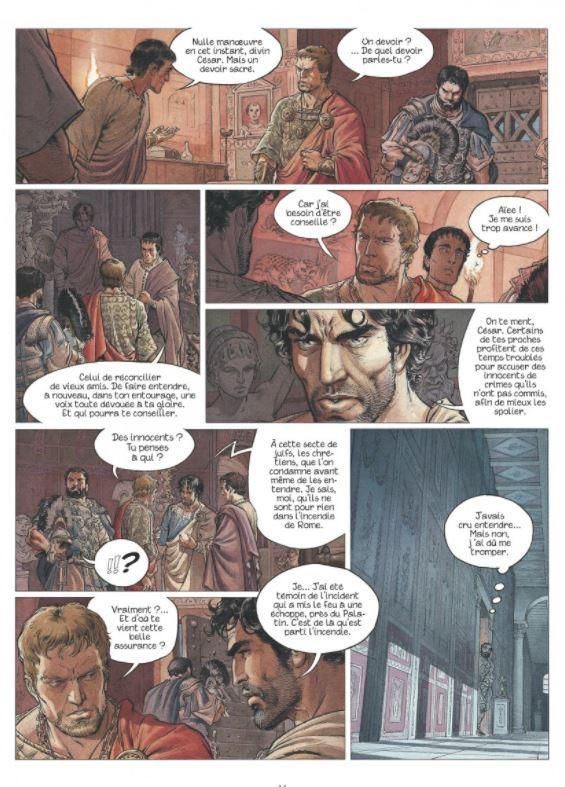 Des retrouvailles sous tension entre Murena et Néron