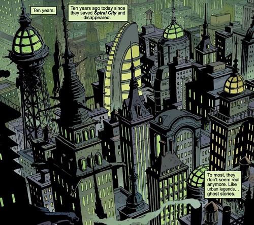 Spiral City : Une ville de super-héros art déco comme on les aime !