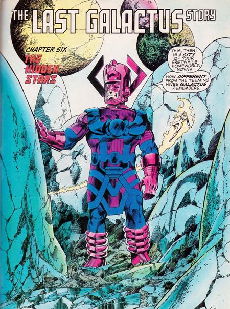 On ne saura jamais ce que prend Galactus en digestif…