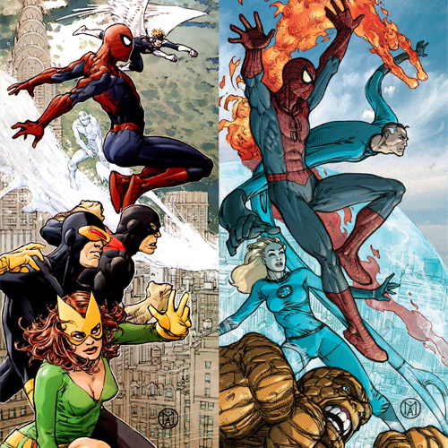 Marvel Team-Up !
