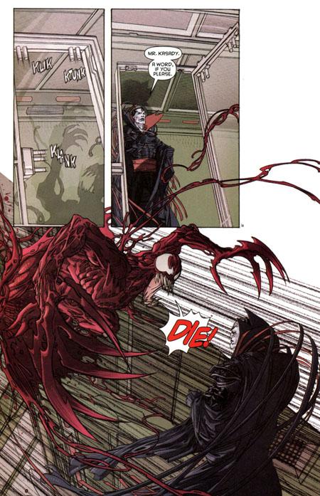 Carnage et Sinister: toute la légèreté des années 90!
