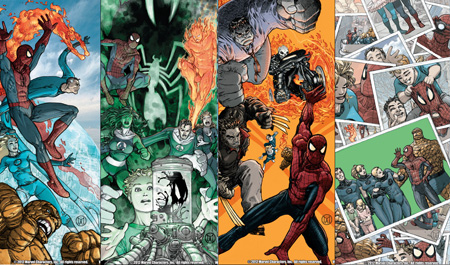 Les FF: une seconde famille pour Spider-Man?