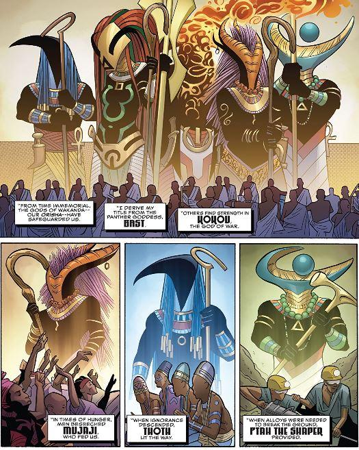 Les dieux du Wakanda