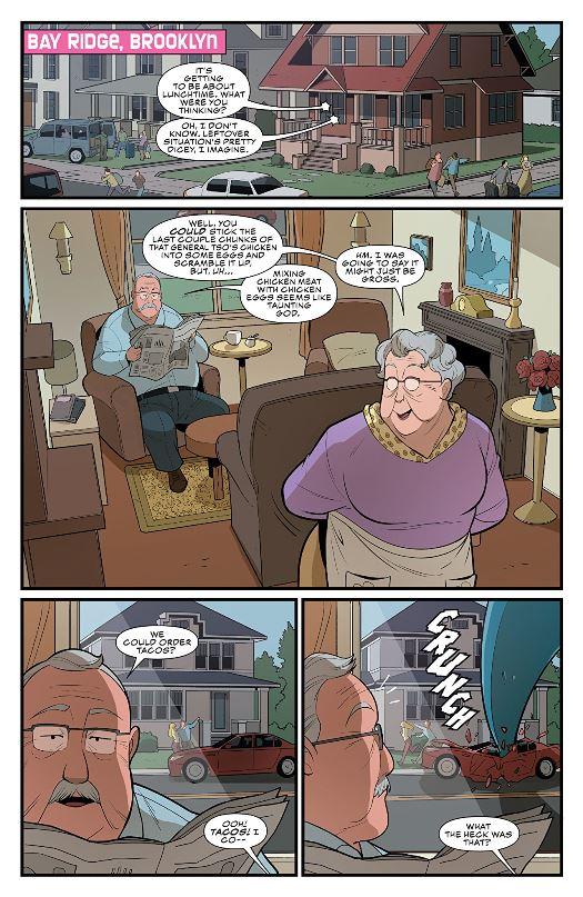 Une retraite tranquille dans une banlieue pavillonnaire
