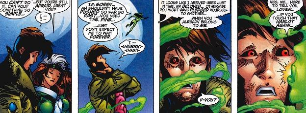 Le come back de Gambit et ses secrets continuent d'intriguer Rogue