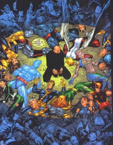 Les mutants attendent leur sauveur...