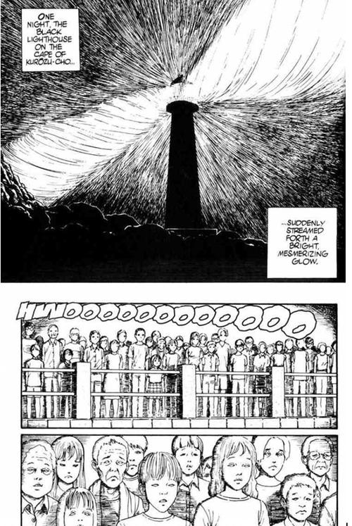 Le chapitre sur la lumière brulante et hypnotique du phare, un des meilleurs passages