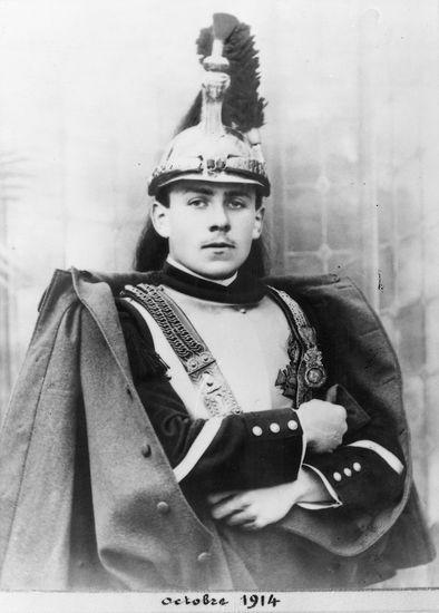 Le maréchal des logis Destouches en 1914 -Photo du domaine public- Source Wikipédia