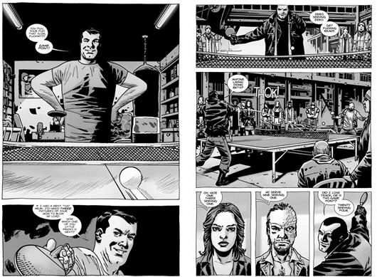Rappelez-vous la scène de ping-pong dans l'épisode 108