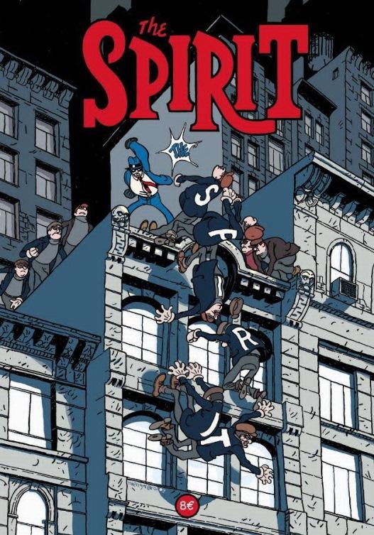 2009 : 2ème publication, couverture originale de Thierry Martin, à la manière de Will Eisner