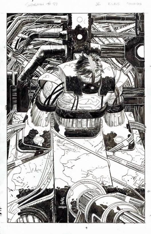 Superman par John Romita junior & Klaus Janson
