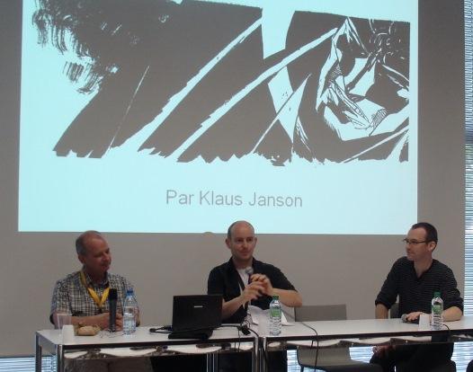 Entre Klaus Janson et Laurent Lefeuvre