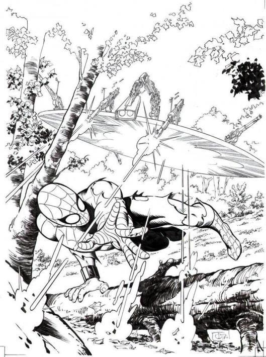 Spider-Man par Ciro Tota